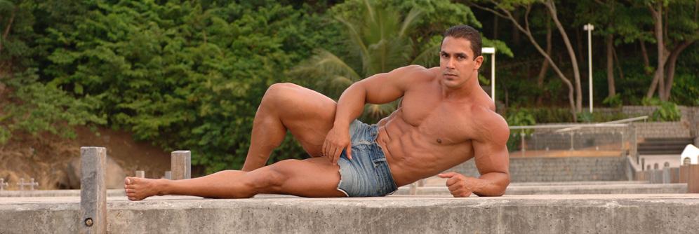 Nude latino studs